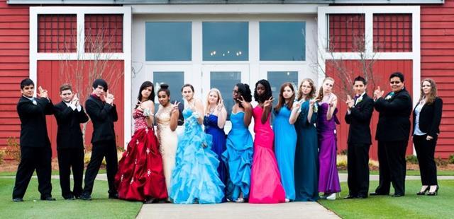 Sequoyah High School Prom 2013 - 1