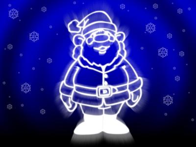 Santa in Canton