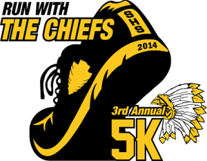 run with the chiefs