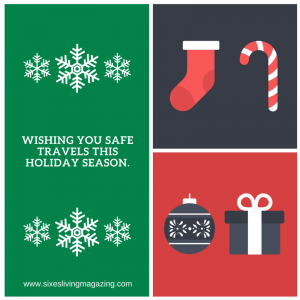 Wishing you safe travels this holiday season.
