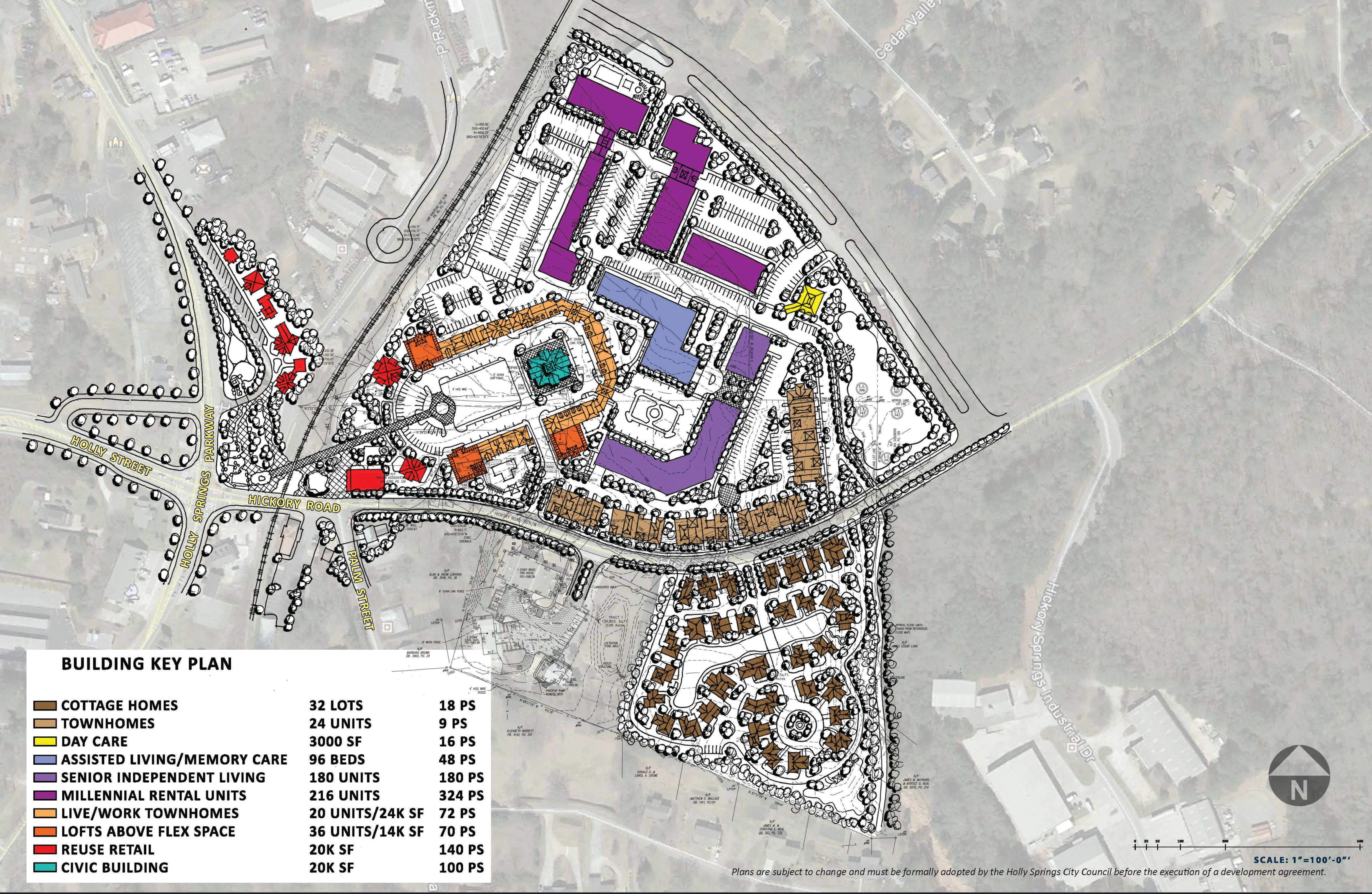 Holly Springs Town Center Project